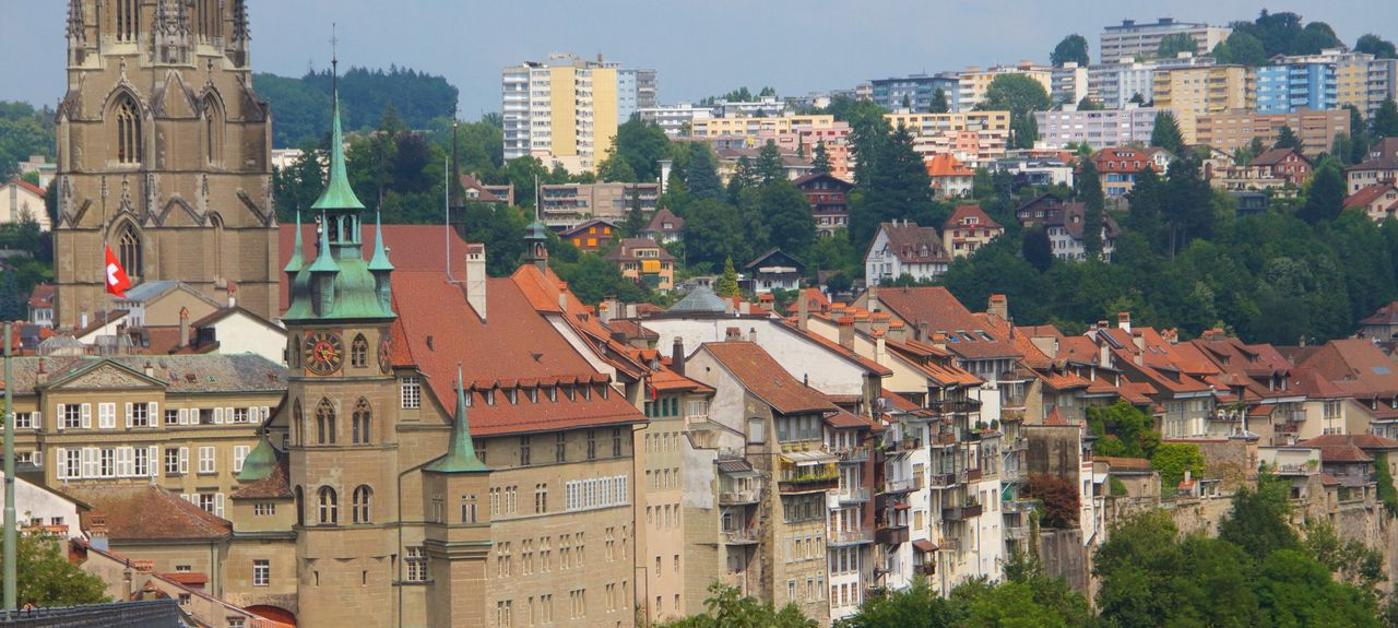 Morat, Canton of Fribourg, Suisse