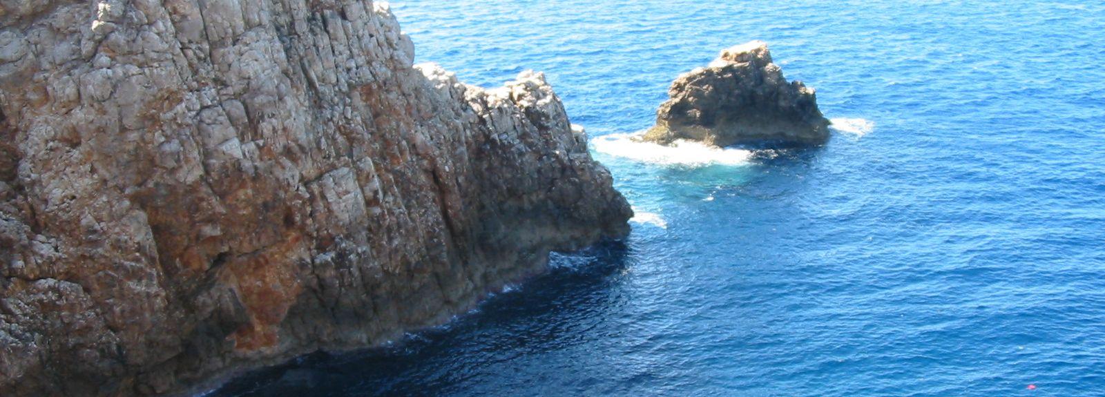 Cala en Brut, Cala en Blanes, Ilhas Baleares, Espanha