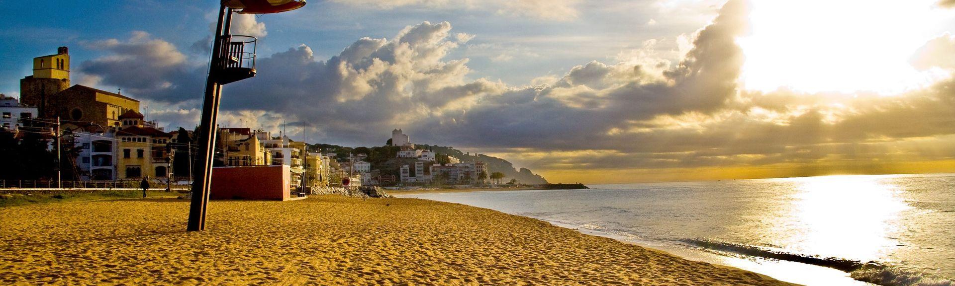Canet de Mar, Katalonia, Espanjassa