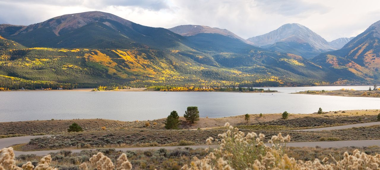 Twin Lakes, Lake County, CO, USA