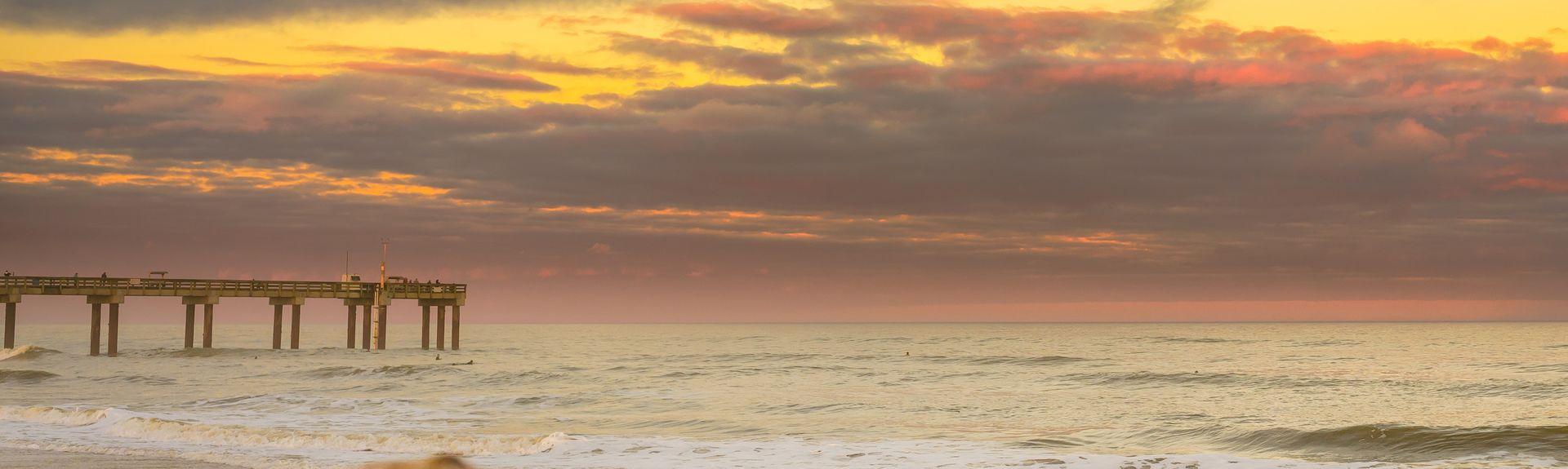 Surfcrest Village, St. Augustine Beach, Florida, Stati Uniti d'America