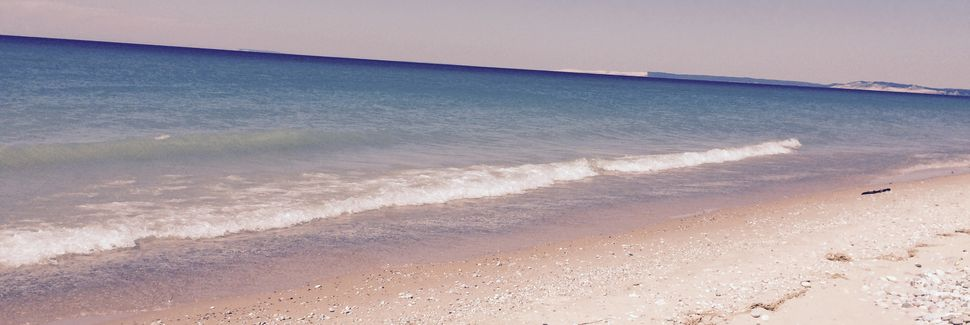 Costa Nacional Sleeping Bear Dunes, Míchigan, Estados Unidos