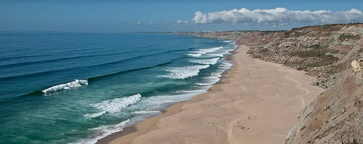 Praia do Norte (Strand), Ericeira, Lissabon Bezirk, Portugal