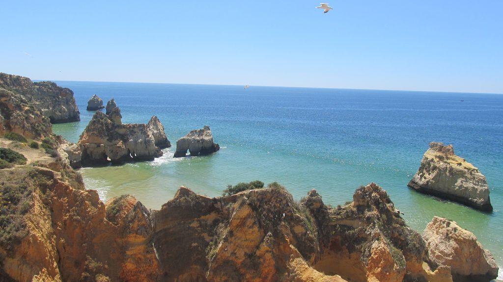 Praia da Rocha, Portimão, District de Faro, Portugal