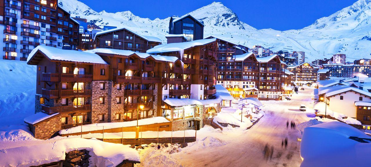 Val Thorens Ski Resort, Saint-Martin-de-Belleville, France