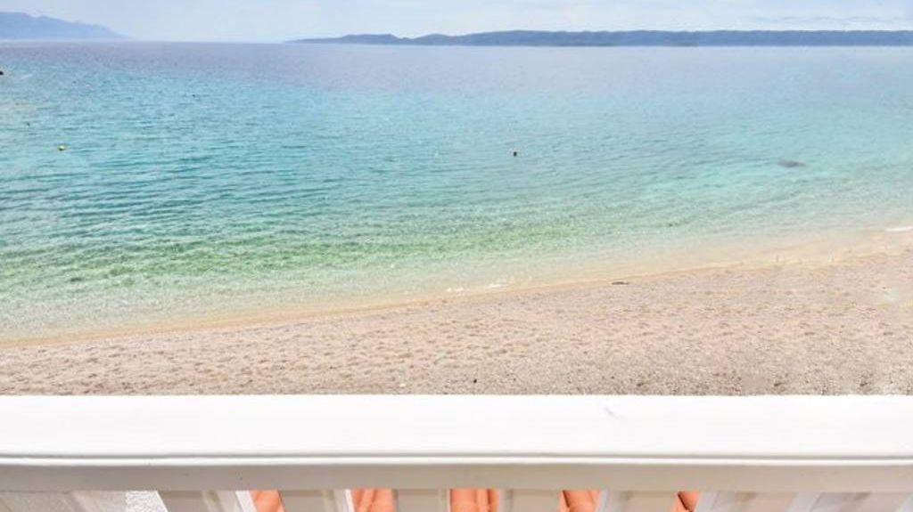 Spiaggia di Zlatni Rat, Vallo della Brazza, Regione spalatino-dalmata, Croazia