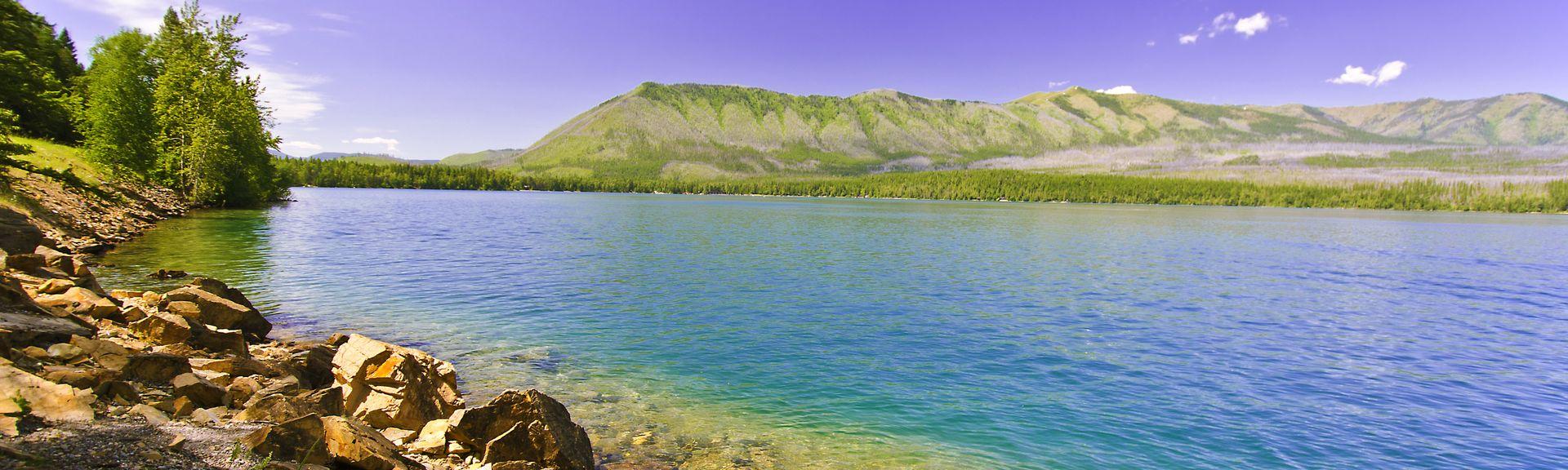 Flathead Lake, MT, USA
