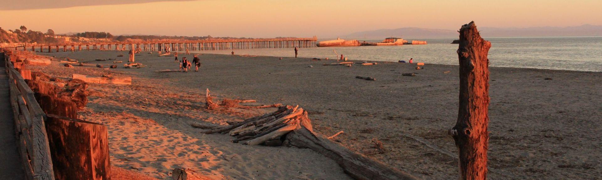 Seacliff State Beach, Aptos, California, Estados Unidos