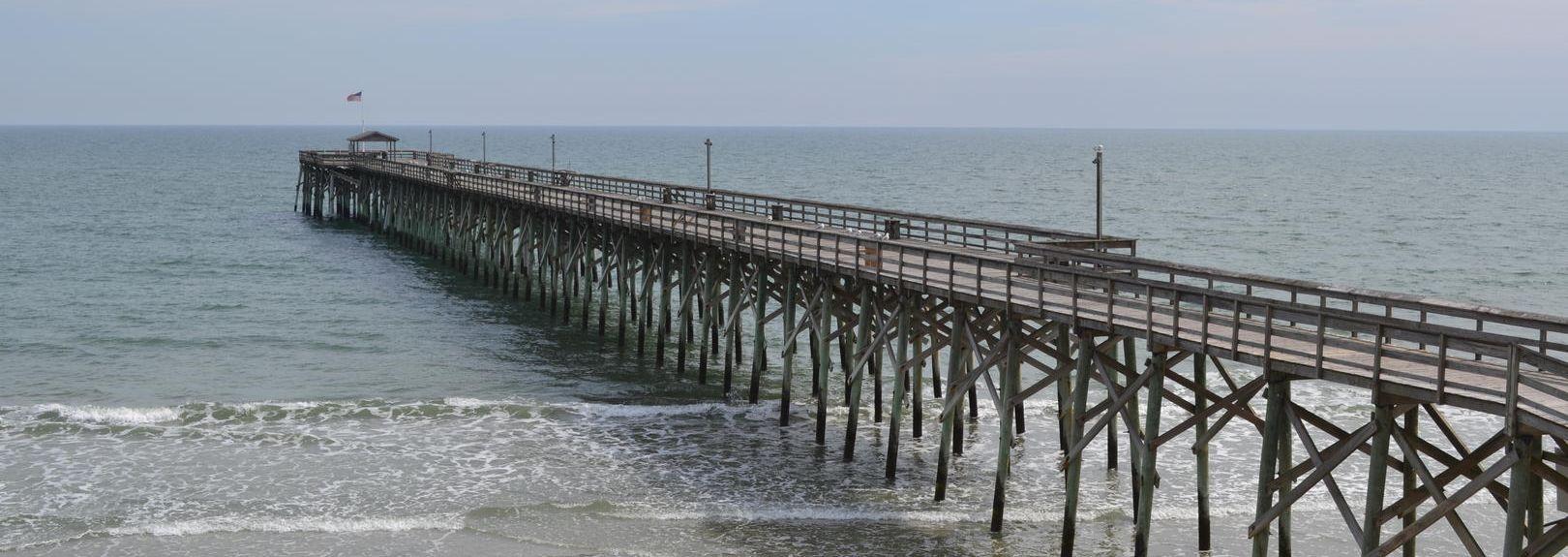 Myrtle Beach State Park, Myrtle Beach, Caroline du Sud, États-Unis