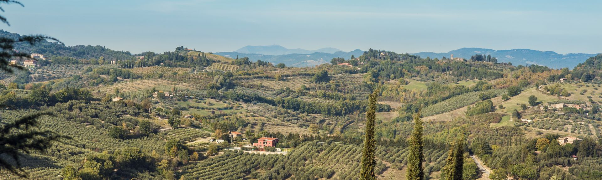 Corciano, Umbria, Italia