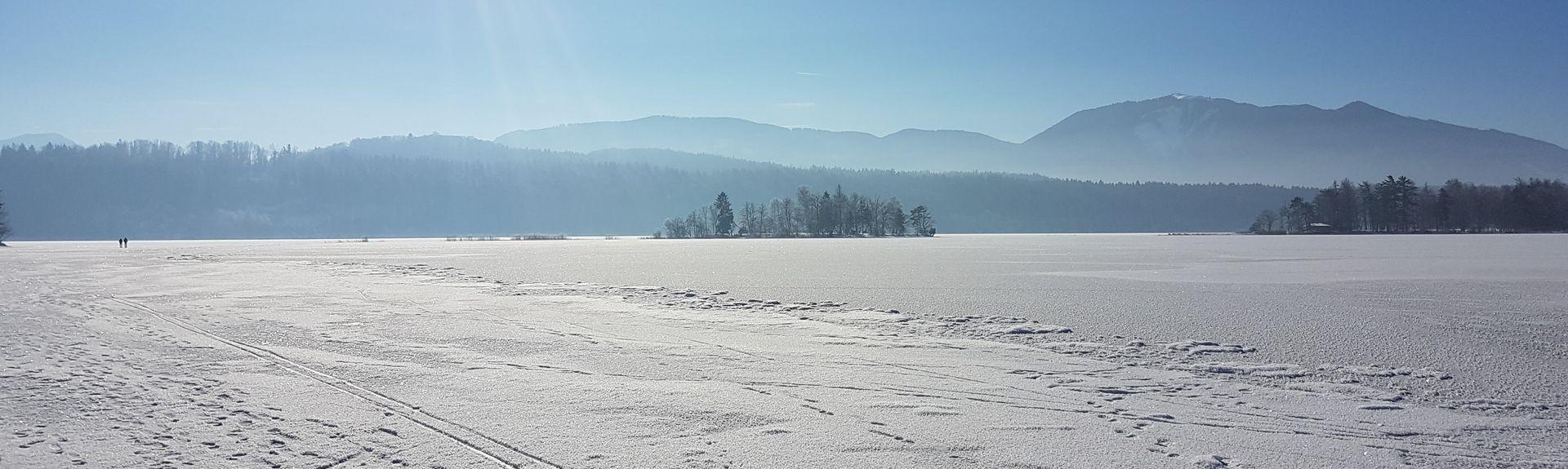 Kochelsee, Kochel am See, Baviera, Alemanha