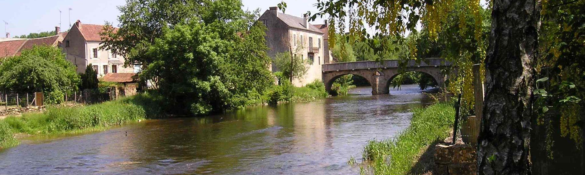Clamecy, Bourgogne-Franche-Comté, Frankrijk