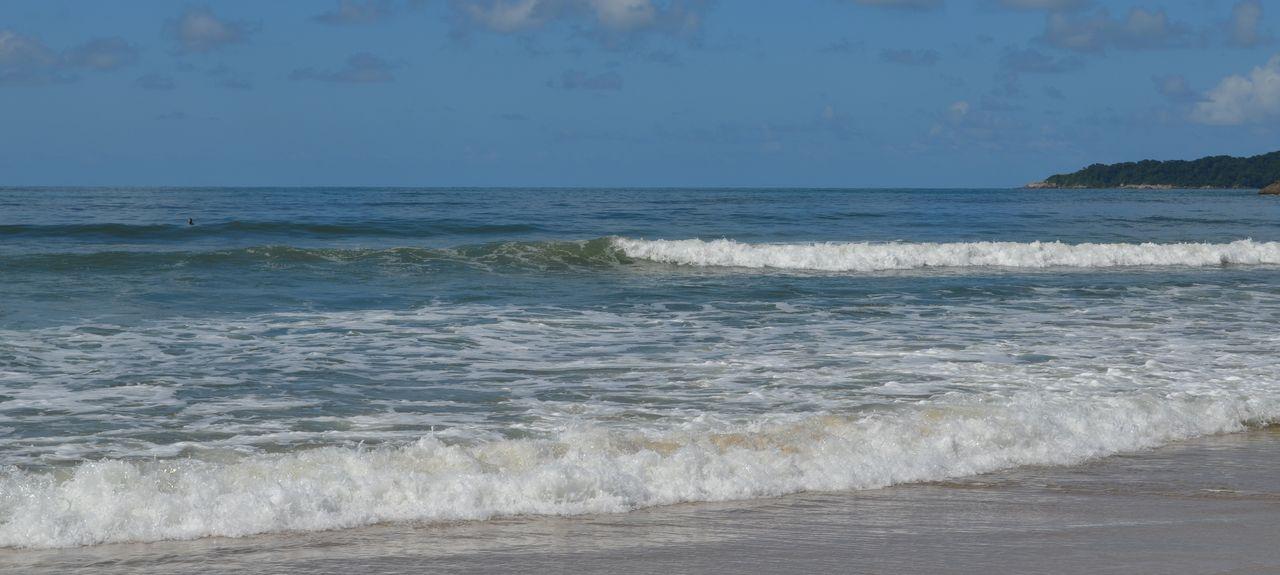 Itaguare Beach, Bertioga, Brazil