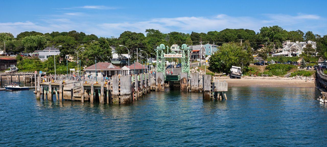 Peaks Island, Maine, États-Unis d'Amérique