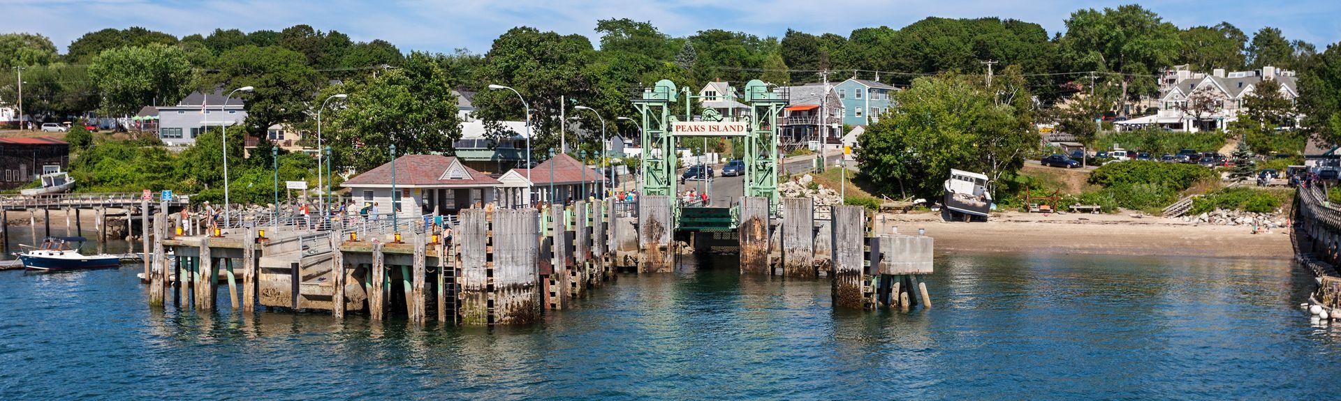 Peaks Island, Maine, USA