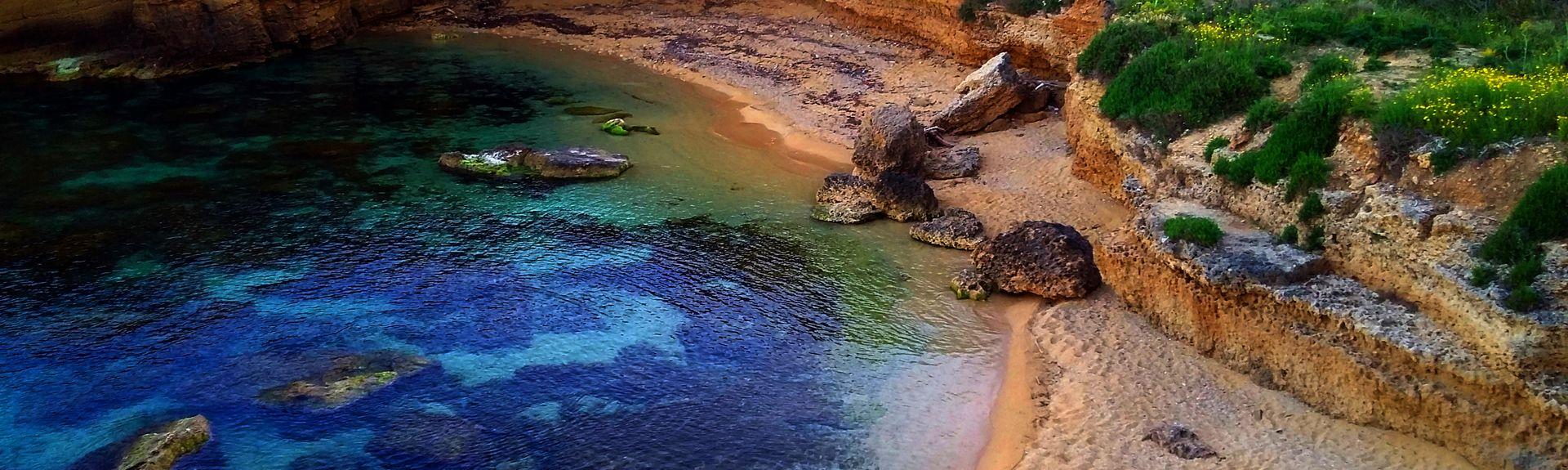 Isola, Siracusa, Sicilien, Italien