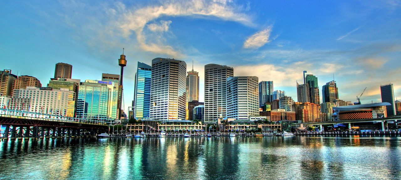 Darling Harbour, Sydney, New South Wales, Australien