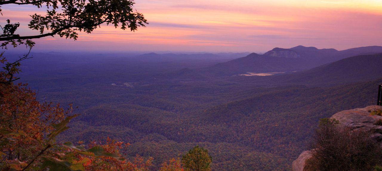 Caesars Head Mountain, Cleveland, Caroline du Sud, États-Unis d'Amérique