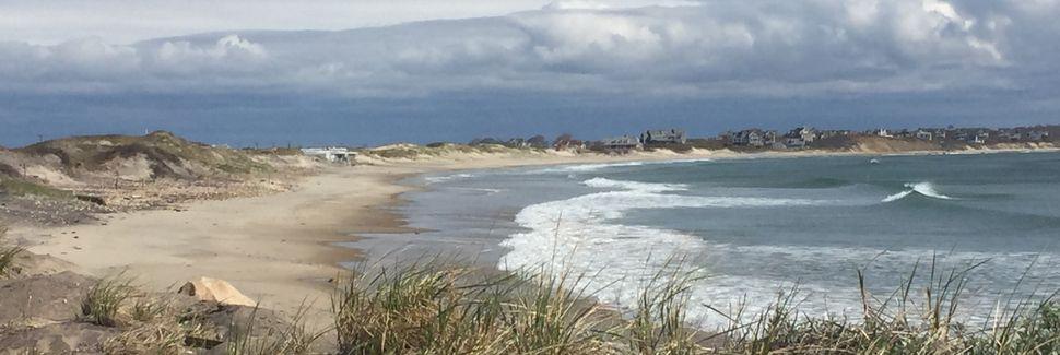 Praia do Leste, Charlestown, Rhode Island, Estados Unidos