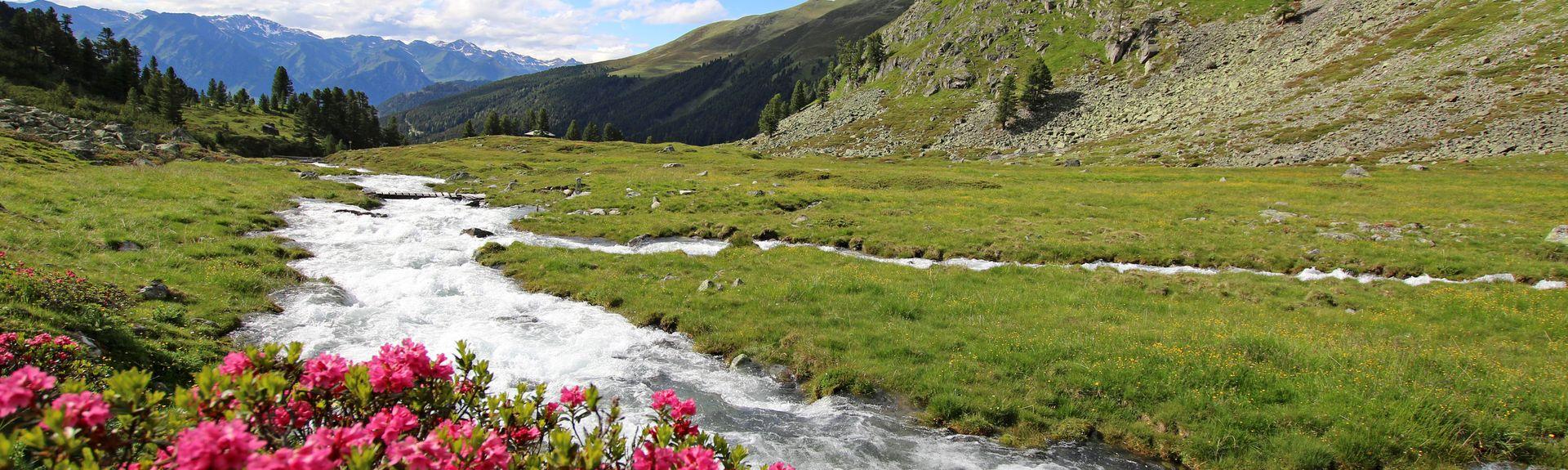 Sankt Anton am Arlberg stasjon, Sankt Anton am Arlberg, Tirol, Østerrike