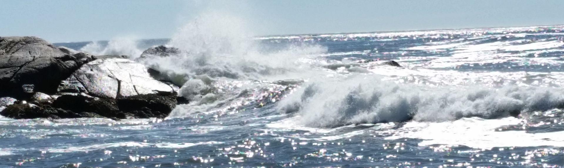 White Point, Hunts Point, Nova Scotia, Canada