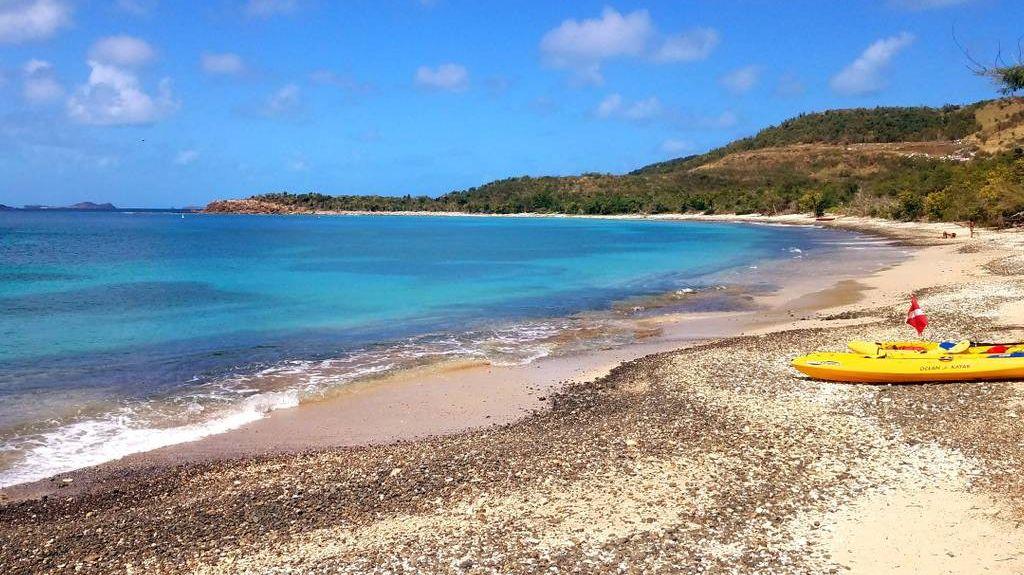 Blue Beach, Esperanza, Puerto Rico