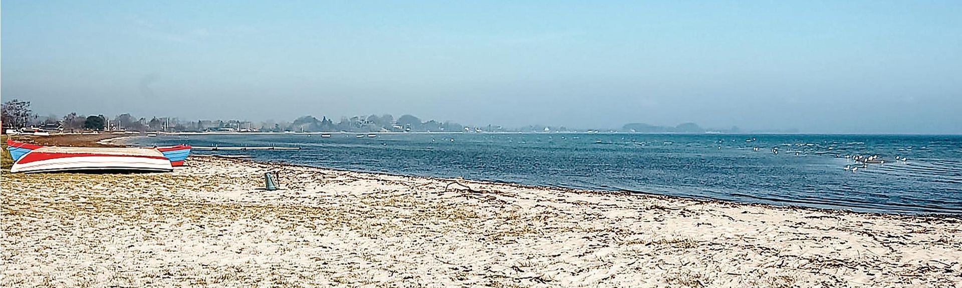 Grønninghoved Strand, Sjølund, Danemark-du-Sud, Danemark