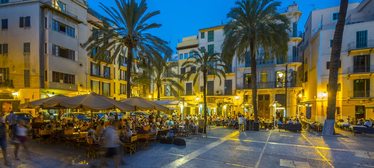 Old Town, Palma de Mallorca, Balearic Islands, Spain