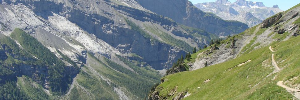 Schweiz Geografiske Centrum, Sachseln, Obwalden, Schweiz