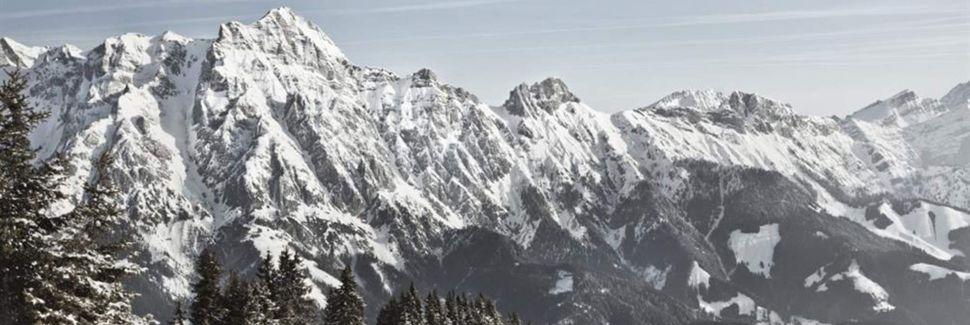 Abergalm Ski Lift, Maria Alm am Steinernen Meer, Austria