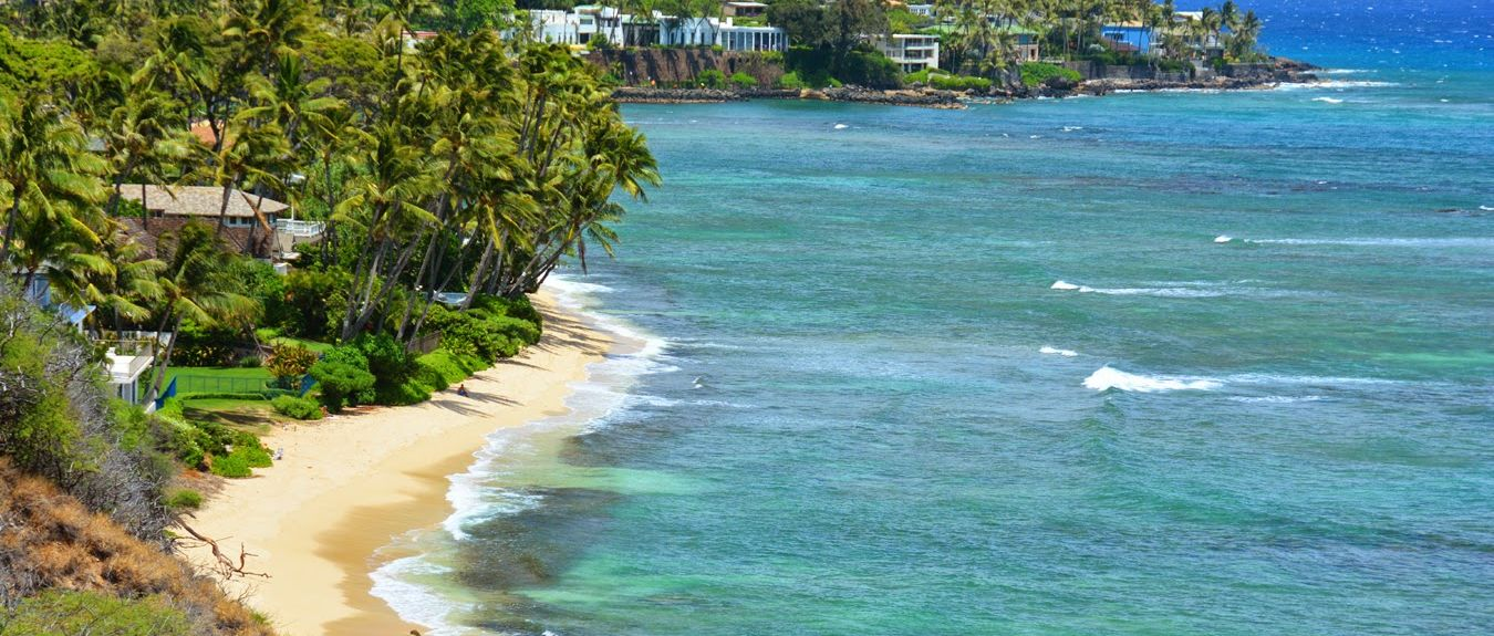 Kahala Beach, Honolulu, Hawaii, United States of America