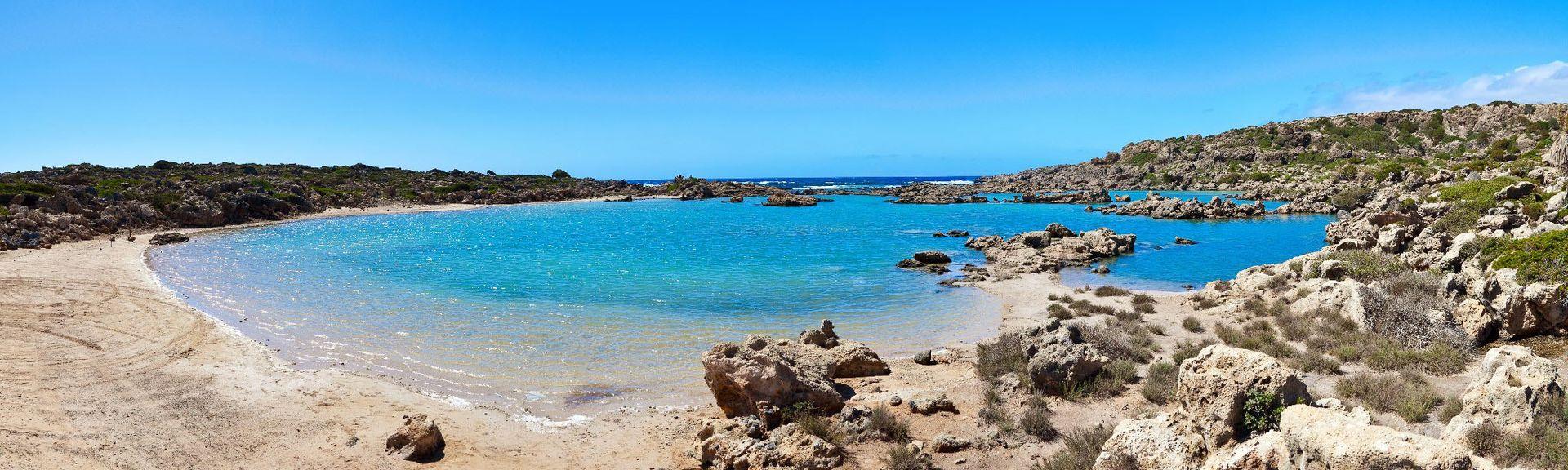 Praia de Falassarna, Kissamos, Creta, Grécia