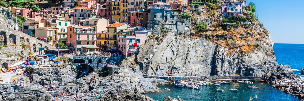 Cinque Terre nasjonalpark, Liguria, Italia