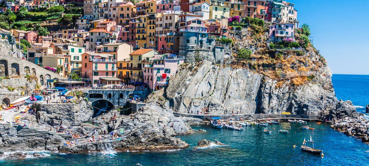Parco Nazionale delle Cinque Terre, Liguria, Italia