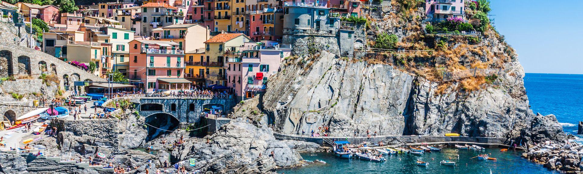 Nationalpark Cinque Terre, Ligurien, Italien