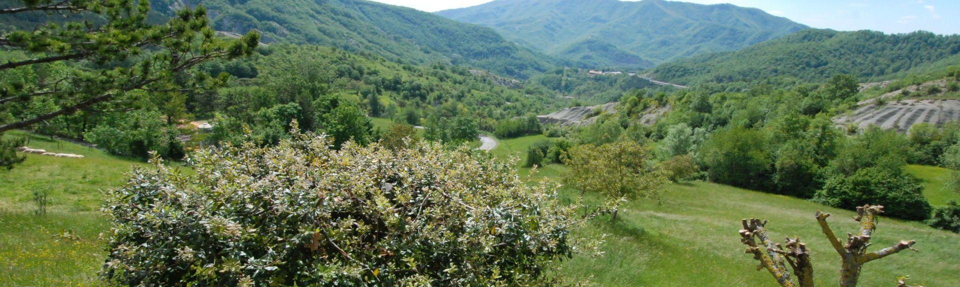 Pennabilli, Emilia-Romagna, Italië