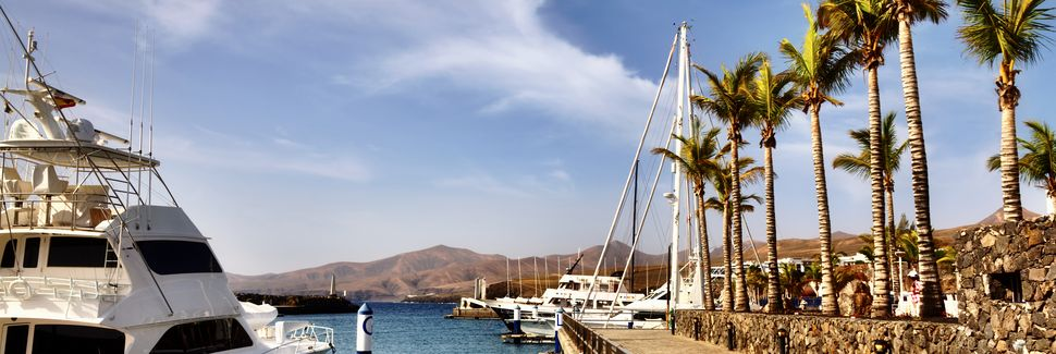 Puerto Calero, Yaiza, Isole Canarie, Spagna
