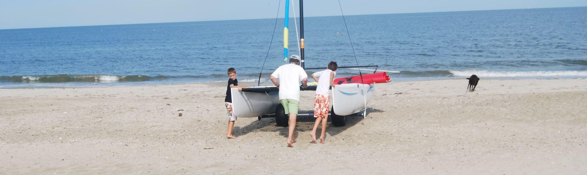 Buckroe Beach, Hampton, Virginie, États-Unis d'Amérique