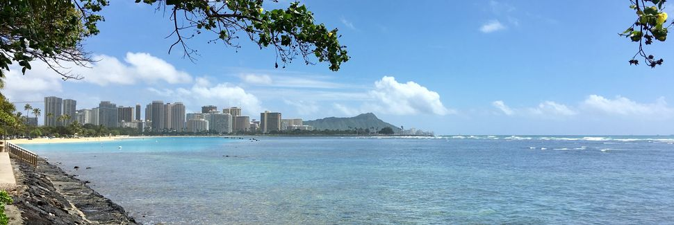 Downtown, Honolulu, Hawaï, États-Unis d'Amérique