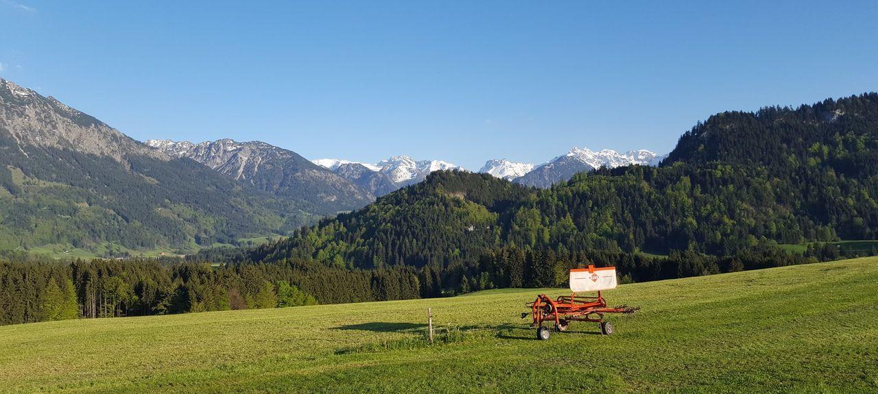 Oberdorf, Obermaiselstein, Bayern, Deutschland