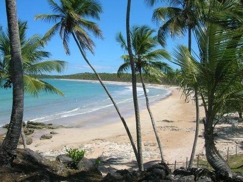 Praia de Guaibim, Valença, Bahia, Brasil