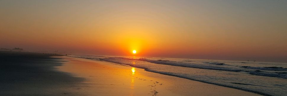Diamond Beach, Wildwood Crest, New Jersey, Estados Unidos