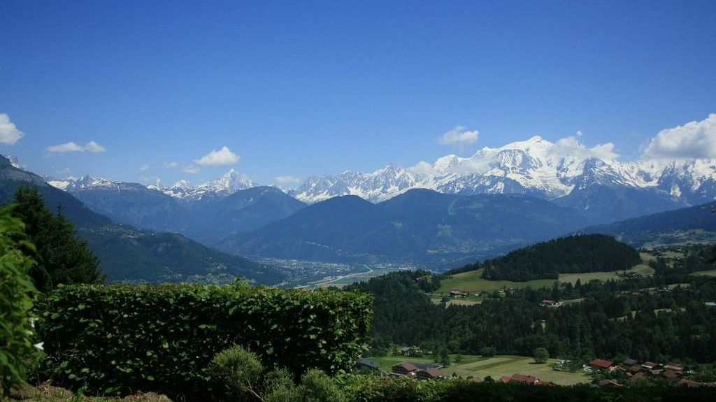 Les Gets skidort, Auvergne - Rhône - Alpes, Frankrike