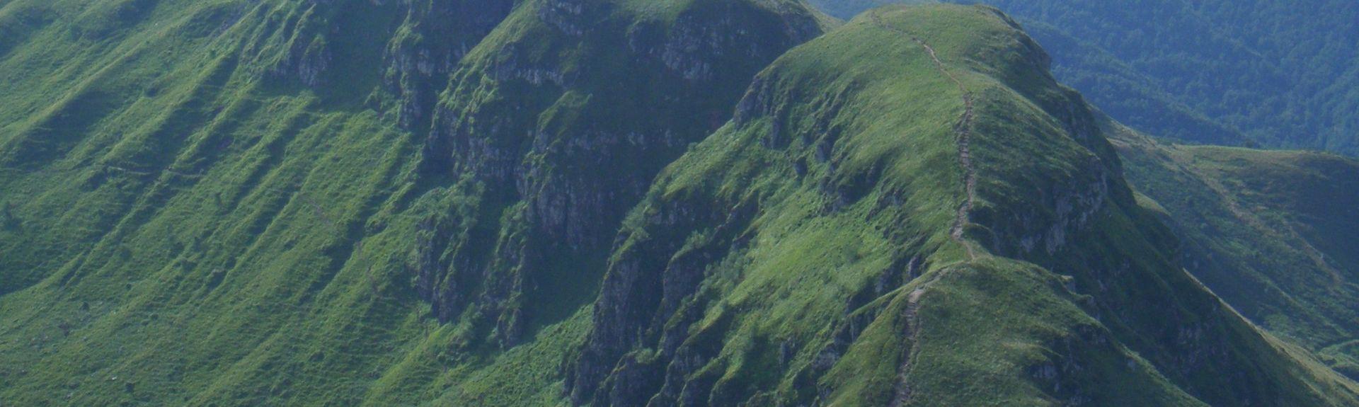 Sainte-Eulalie, Cantal, Auvergne-Rhône-Alpes, Francja