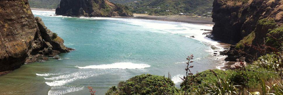 Big Bay, Awhitu Peninsular, Manukau Heads, New Zealand