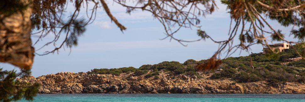 Punta Sardegna, Palau, Sardinia, Italia