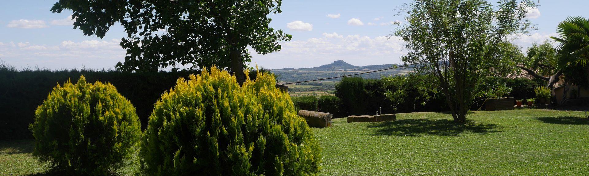 Aínsa, Aragón, Spanien