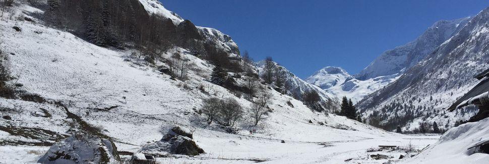Paradiski skidort, La Plagne-Tarentaise, Auvergne - Rhône - Alpes, Frankrike