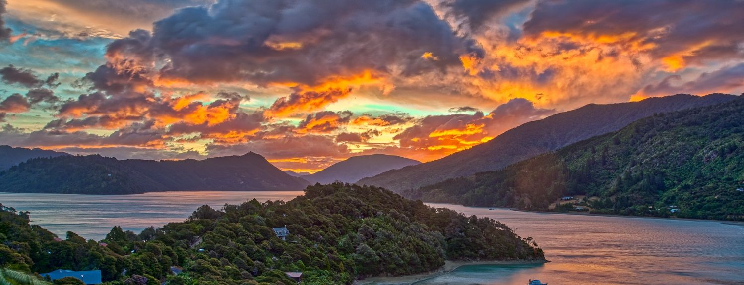 Queen Charlotte Sound, Marlborough, South Island, New Zealand