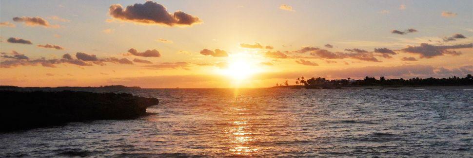 Lagon bleu, Salt Cay, Bahamas